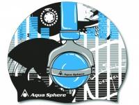 Aqua Sphere Headphones junior cap