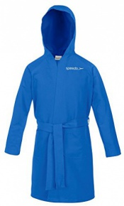 Speedo Bathrobe Microfiber Blue