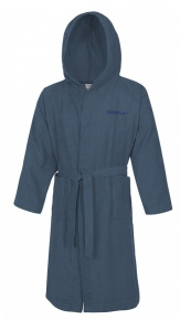 Speedo Bathrobe Microterry Navy