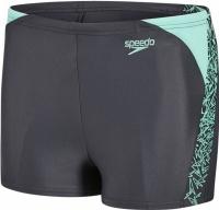 Speedo Boom Splice Aquashort Junior Oxid/Green