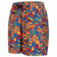 Speedo Printed Leisure 15 Watershort Danube/Red/Mango
