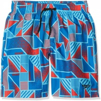 Speedo Printed Leisure 15 Watershort Danube/Red