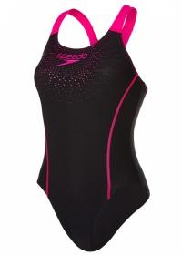 Speedo Gala Logo Medalist Black/Pink
