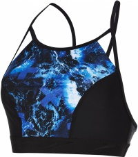 Speedo Stormza Crop Top Black/Ultramarine/Stellar