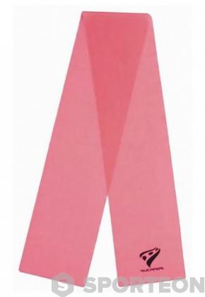 Bandă roză Rucanor pentru exerciţii fizice 0,35mm