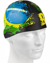 Mad Wave Brazil Swim Cap