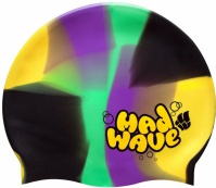 Mad Wave Multi Swim Cap Junior
