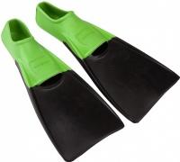 Mad Wave Kids Fins Black/Green