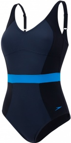 Speedo CrystalGleam 1 Piece Black/Oxid Grey/Windsor Blue