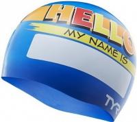 Tyr Hello My Name Is Jr. Swim Cap