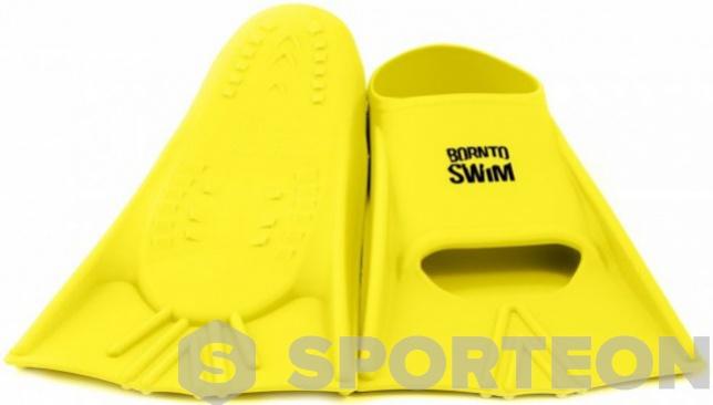 BornToSwim Junior Short Fins Yellow