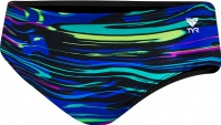 Tyr Fresno All Over Boys Racer Blue/Multi