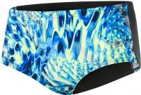 Speedo ReflectFlash Allover Digital 14cm Brief Black/Navy/Ink Blue