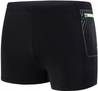 Speedo Contrast Pocket Aquashort Black/Oxid Grey
