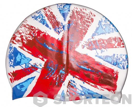 Mad Wave United Kingdom Swim Cap