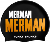 Funky Trunks Golden Merman Swimming Cap
