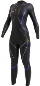Speedo E-15 Elite Fullsuit Women Black/Purple