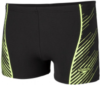 Speedo Sport Panel Aquashort Black/Bright Zest