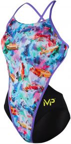 Michael Phelps Vintage Open Back Multicolor/Black