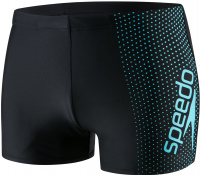 Speedo Gala Logo Aquashort Black/Aquasplash