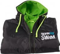 BornToSwim Parka Black/Green