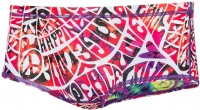 Speedo HippyDream Reversible 14cm Allover Brief White/Psycho Red/Ecstatic