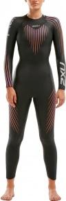 2XU P:1 Propel Wetsuit Women Black/Sunset Ombre