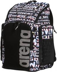 Arena Team Backpack 45 Allover Neon Glitch