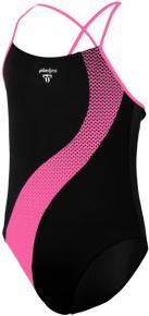Michael Phelps Lumy Aqua First Girls Black/Bright Pink