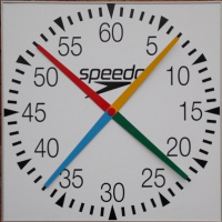 Swimaholic 4 Handed Pace Clock Square 600mm