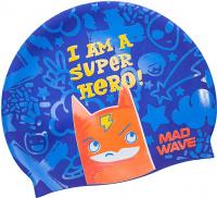 Mad Wave Super Hero Swim Cap Junior