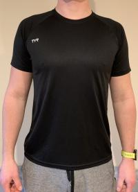 Tyr Tech T-Shirt Black